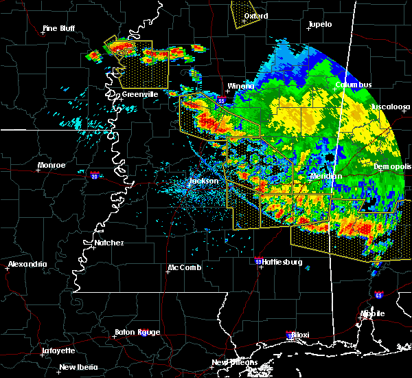 Radar Image for Severe Thunderstorms near Newton, MS at 6/17/2016 5:33 PM CDT