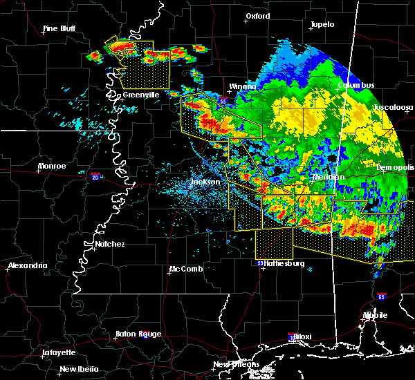 Radar Image for Severe Thunderstorms near Ellisville, MS at 6/17/2016 5:33 PM CDT