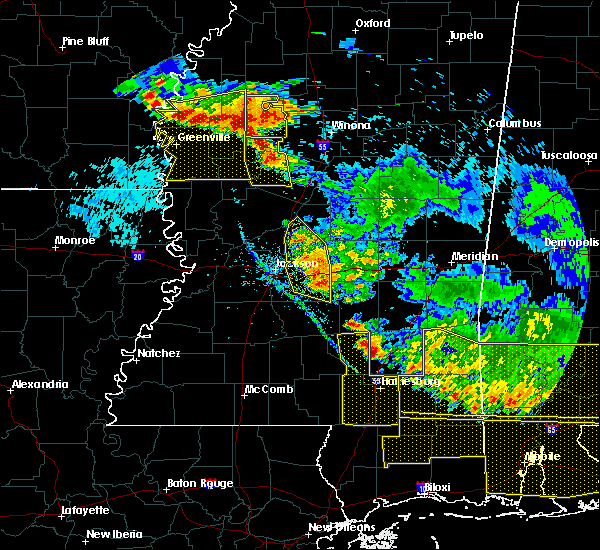 Radar Image for Severe Thunderstorms near Inverness, MS at 6/17/2016 6:35 PM CDT