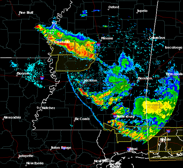Radar Image for Severe Thunderstorms near Eden, MS at 6/17/2016 7:24 PM CDT
