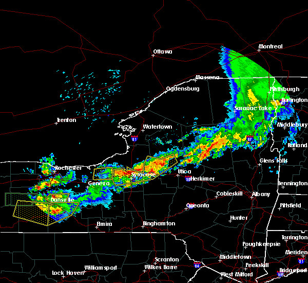 Radar Image for Severe Thunderstorms near Baldwinsville, NY at 6/20/2016 11:51 PM EDT
