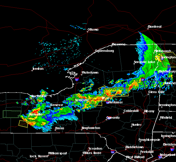 Radar Image for Severe Thunderstorms near Rome, NY at 6/21/2016 12:24 AM EDT