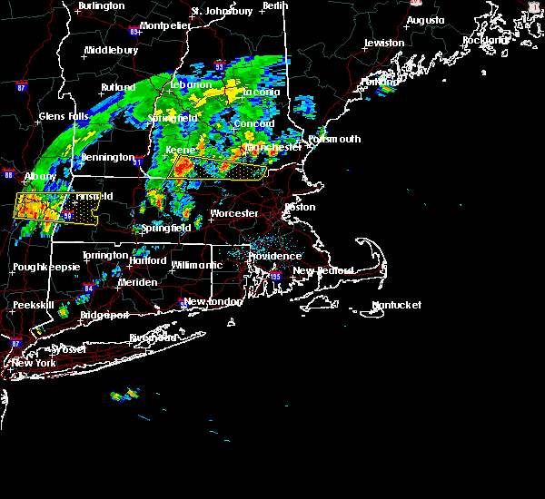 Radar Image for Severe Thunderstorms near Hudson, NH at 6/21/2016 3:07 AM EDT