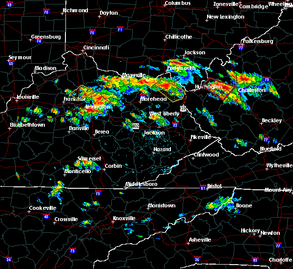 Radar Image for Severe Thunderstorms near Paris, KY at 6/21/2016 2:16 PM EDT
