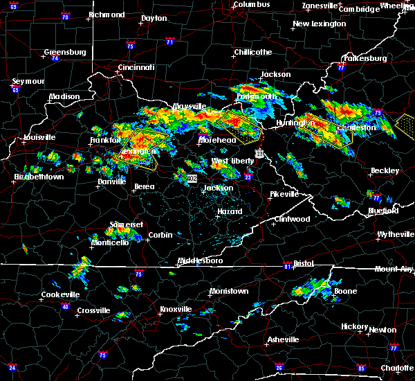 Radar Image for Severe Thunderstorms near Paris, KY at 6/21/2016 2:22 PM EDT