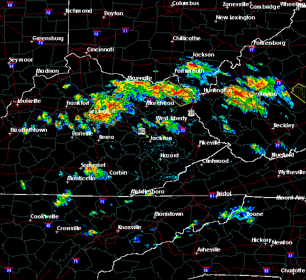 Radar Image for Severe Thunderstorms near Paris, KY at 6/21/2016 2:24 PM EDT