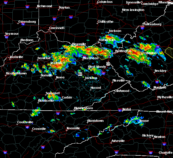 Radar Image for Severe Thunderstorms near Carlisle, KY at 6/21/2016 2:28 PM EDT