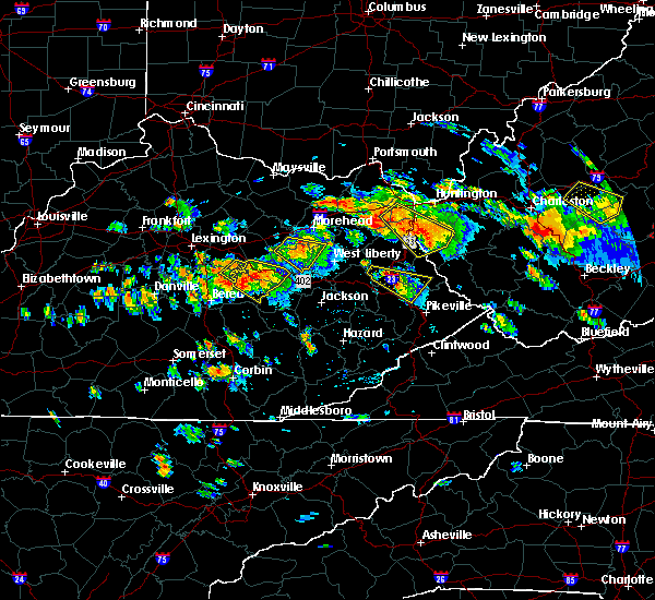 Radar Image for Severe Thunderstorms near Prestonsburg, KY at 6/21/2016 3:11 PM EDT