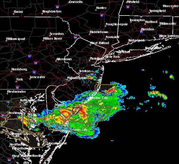 Radar Image for Severe Thunderstorms near Silver Ridge, NJ at 6/21/2016 4:09 PM EDT
