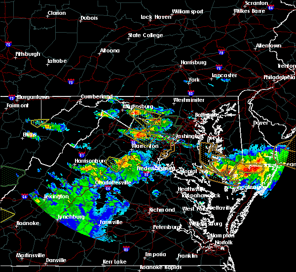 Radar Image for Severe Thunderstorms near Rohrersville, MD at 6/21/2016 5:18 PM EDT