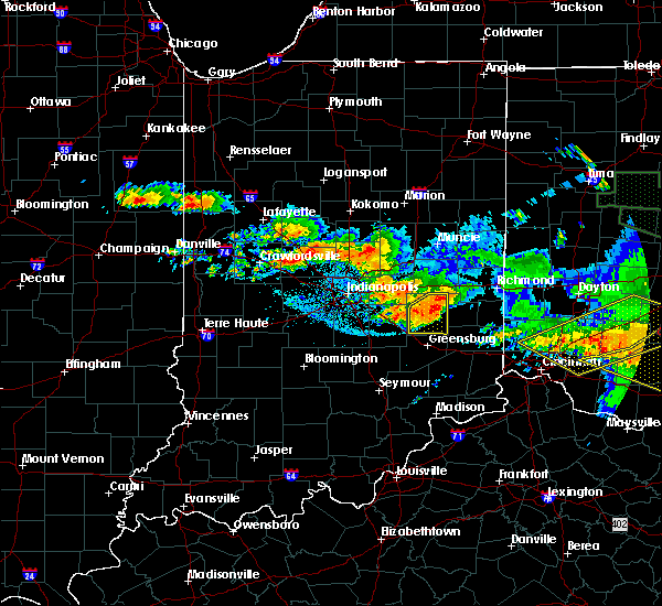 Radar Image for Severe Thunderstorms near College Corner, OH at 6/23/2016 3:44 AM EDT