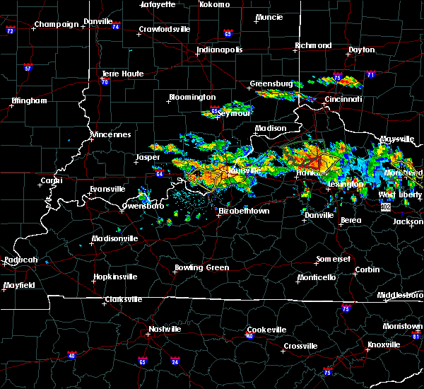 Radar Image for Severe Thunderstorms near South Park View, KY at 6/23/2016 4:55 PM EDT