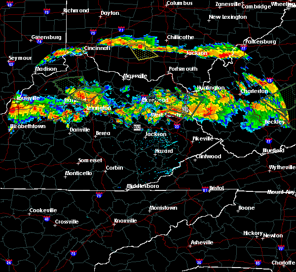 Radar Image for Severe Thunderstorms near Paris, KY at 6/23/2016 5:38 PM EDT