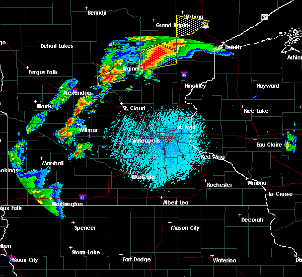 Radar Image for Severe Thunderstorms near St. Anthony, MN at 6/25/2016 3:56 PM CDT