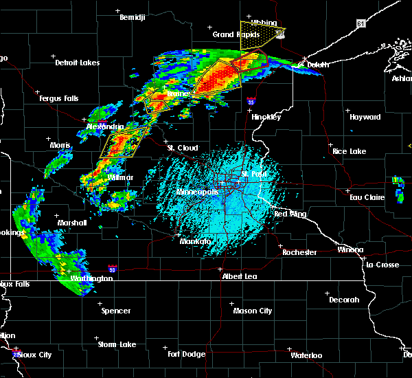 Radar Image for Severe Thunderstorms near St. Anthony, MN at 6/25/2016 4:08 PM CDT