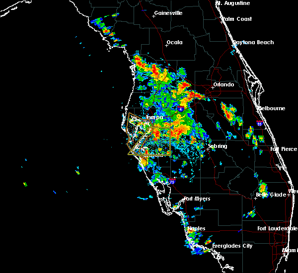 Radar Image for Severe Thunderstorms near Bayshore Gardens, FL at 6/26/2016 3:09 PM EDT