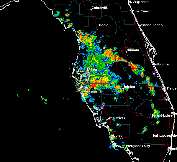 Radar Image for Severe Thunderstorms near Bayshore Gardens, FL at 6/26/2016 3:35 PM EDT