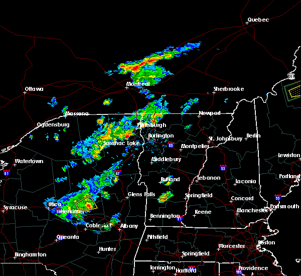 Radar Image for Severe Thunderstorms near South Burlington, VT at 6/28/2016 4:12 PM EDT