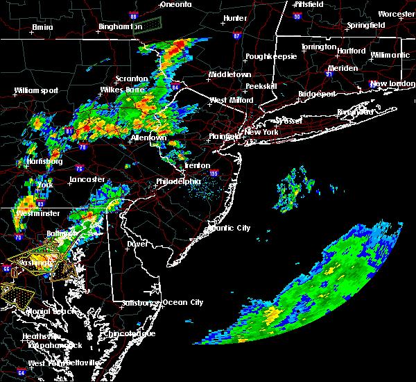 Radar Image for Severe Thunderstorms near Upper Stewartsville, NJ at 6/28/2016 7:12 PM EDT