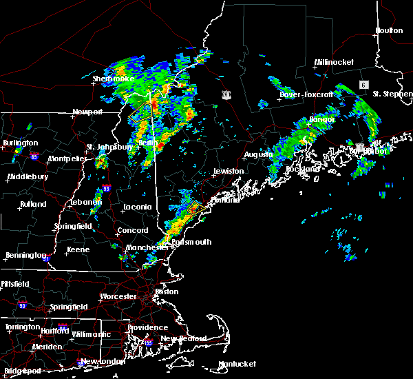 Radar Image for Severe Thunderstorms near Portland, ME at 6/29/2016 2:06 PM EDT