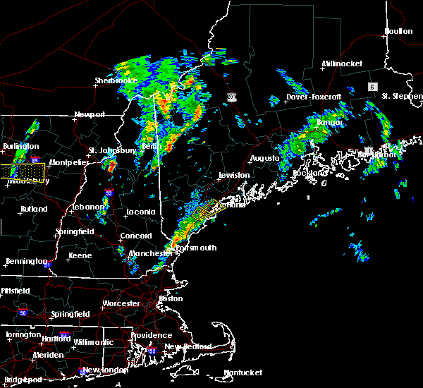 Radar Image for Severe Thunderstorms near Falmouth Foreside, ME at 6/29/2016 2:23 PM EDT