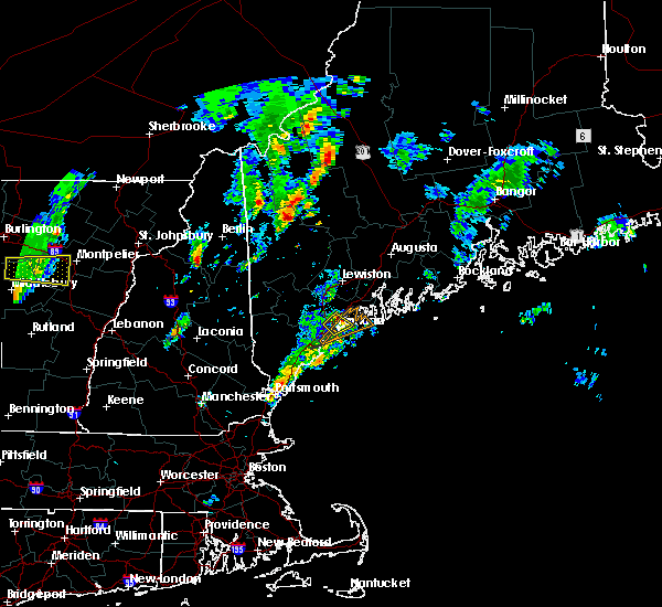 Radar Image for Severe Thunderstorms near Falmouth Foreside, ME at 6/29/2016 2:54 PM EDT