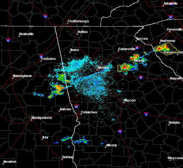 Radar Image For Severe Thunderstorms Near Winder GA At 6 29 2016 10
