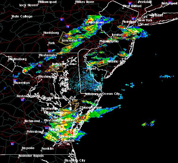 Radar Image for Severe Thunderstorms near Fairton, NJ at 7/1/2016 3:09 PM EDT