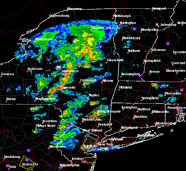 Radar Image for Severe Thunderstorms near Milton, NY at 7/1/2016 3:26 PM EDT