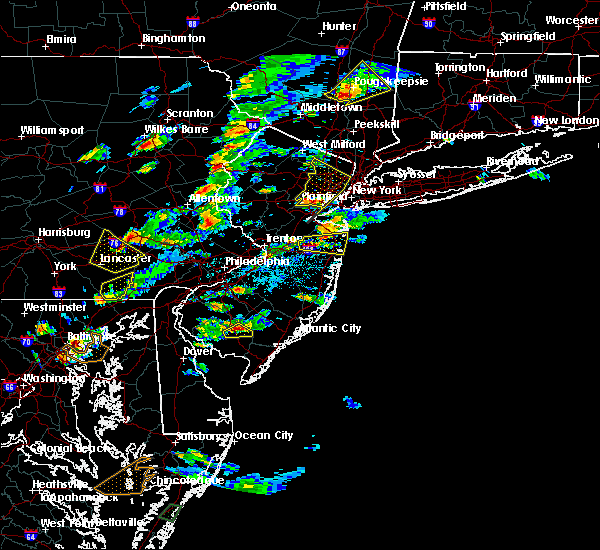 Radar Image for Severe Thunderstorms near Lancaster, PA at 7/1/2016 3:28 PM EDT