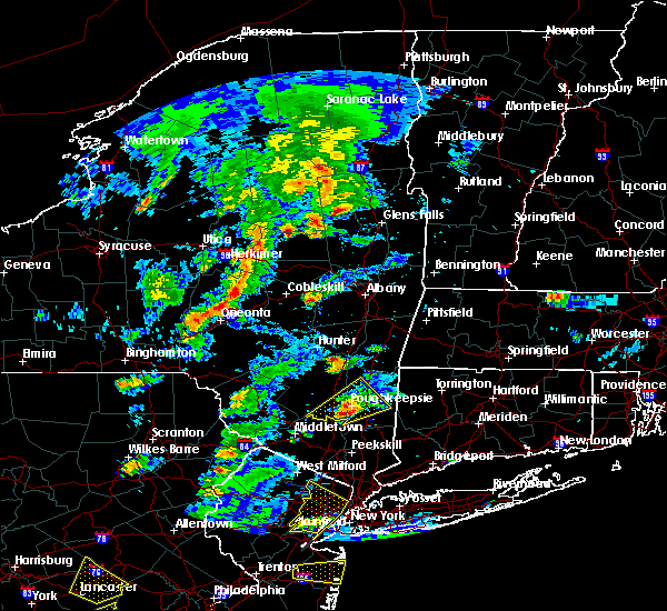 Radar Image for Severe Thunderstorms near Rotterdam, NY at 7/1/2016 3:31 PM EDT