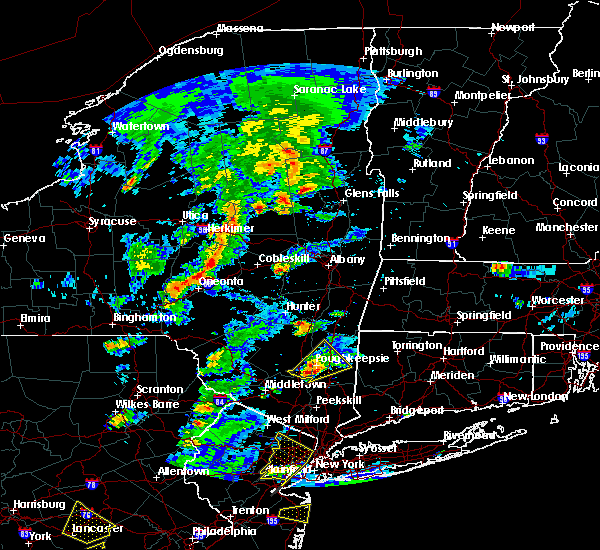 Radar Image for Severe Thunderstorms near Milton, NY at 7/1/2016 3:34 PM EDT