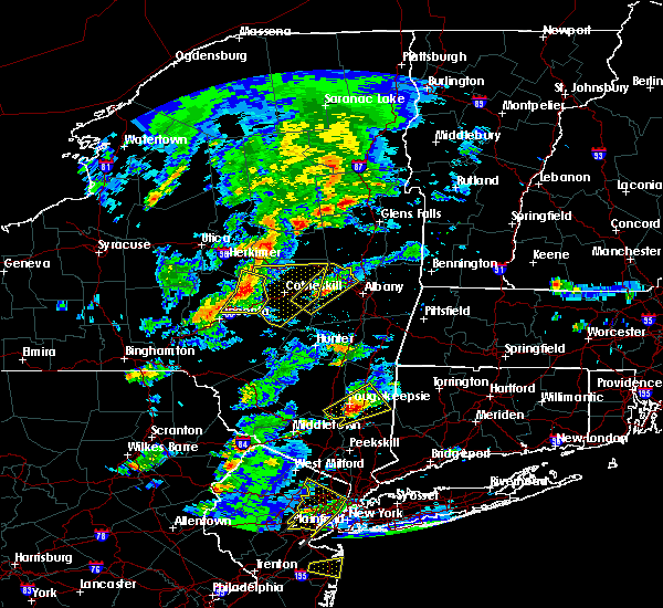 Radar Image for Severe Thunderstorms near Wappingers Falls, NY at 7/1/2016 3:46 PM EDT