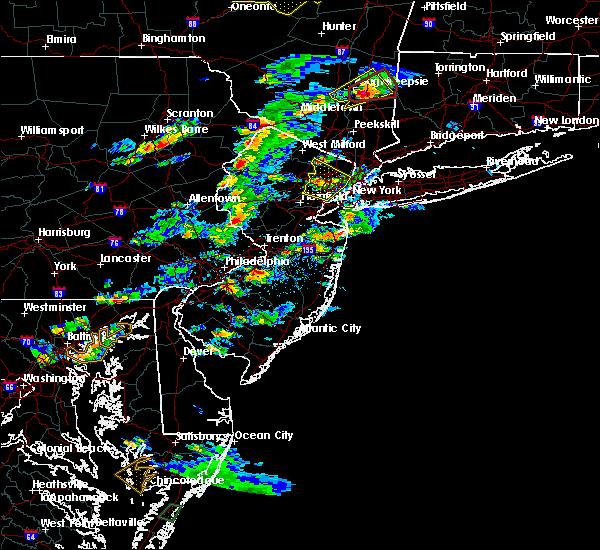 Radar Image for Severe Thunderstorms near Groveville, NJ at 7/1/2016 3:58 PM EDT