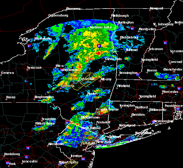 Radar Image for Severe Thunderstorms near Rotterdam, NY at 7/1/2016 4:10 PM EDT