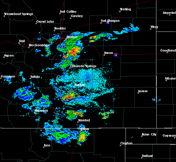 Radar Image for Severe Thunderstorms near Colorado City, CO at 7/1/2016 2:52 PM MDT
