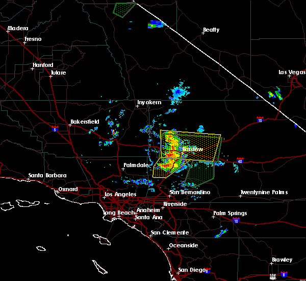 Interactive Hail Maps Hail Map For Barstow Ca