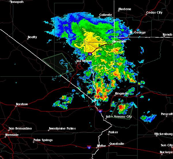 Radar Image for Severe Thunderstorms near Golden Valley, AZ at 7/2/2016 1:29 AM MST