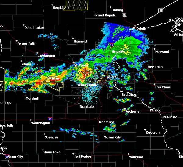 Interactive Hail Maps Hail Map For Buffalo Mn