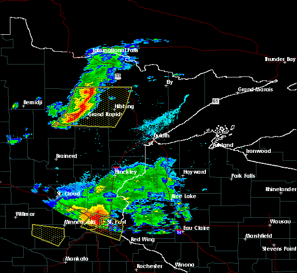 Radar Image for Severe Thunderstorms near Cohasset, MN at 7/5/2016 5:54 PM CDT