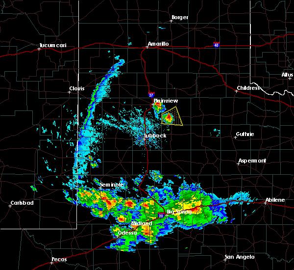 Radar Image for Severe Thunderstorms near Floydada, TX at 7/5/2016 7:20 PM CDT
