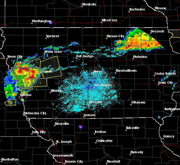Radar Image for Severe Thunderstorms near Halbur, IA at 7/5/2016 10:59 PM CDT