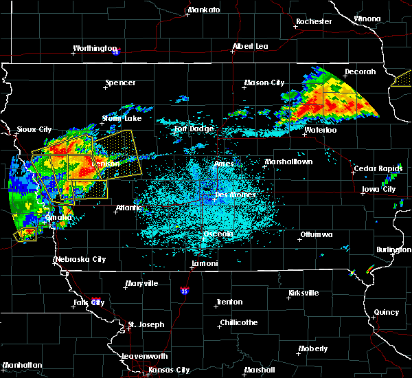 Radar Image for Severe Thunderstorms near Halbur, IA at 7/5/2016 11:15 PM CDT