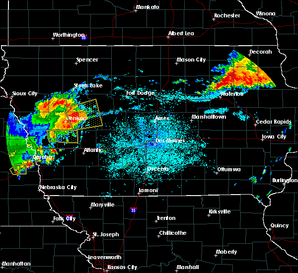 Radar Image for Severe Thunderstorms near Westside, IA at 7/5/2016 11:28 PM CDT