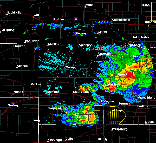 Radar Image for Severe Thunderstorms near Arnold, NE at 7/6/2016 10:46 PM CDT