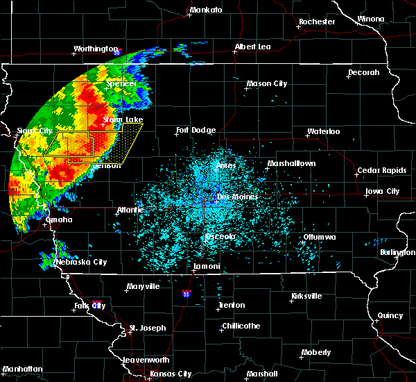 Radar Image for Severe Thunderstorms near Schleswig, IA at 7/7/2016 12:44 AM CDT