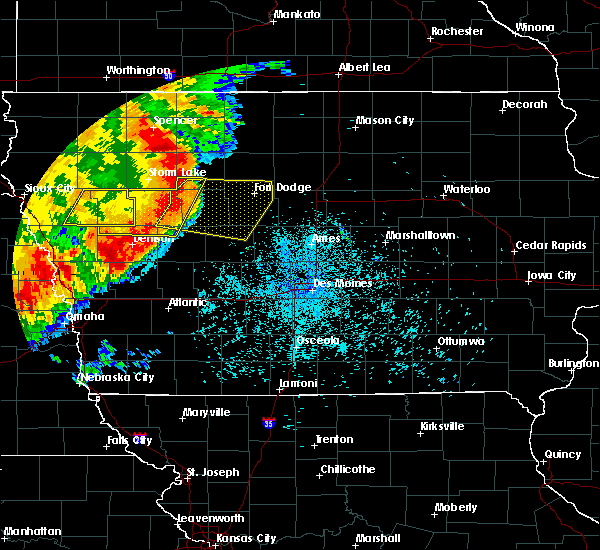 Radar Image for Severe Thunderstorms near Early, IA at 7/7/2016 12:59 AM CDT
