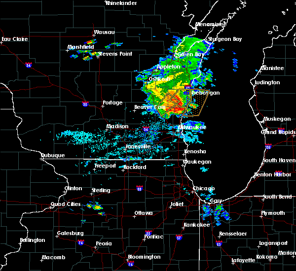 Interactive Hail Maps Hail Map For West Bend Wi