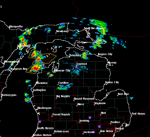 Interactive Hail Maps Hail Map For Traverse City Mi