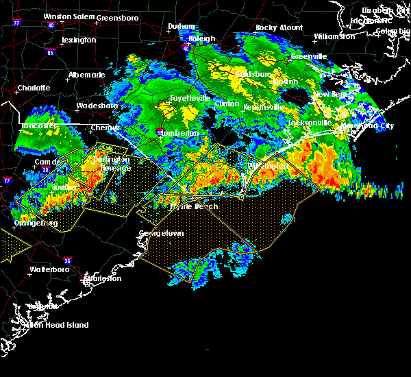 Radar Image for Severe Thunderstorms near Wrightsboro, NC at 7/9/2016 12:41 AM EDT